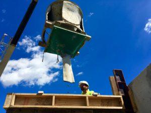 Pouring Concrete - McRae Enterprises