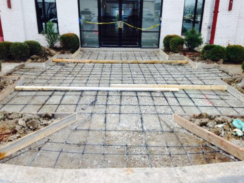 Commercial Concrete Steel