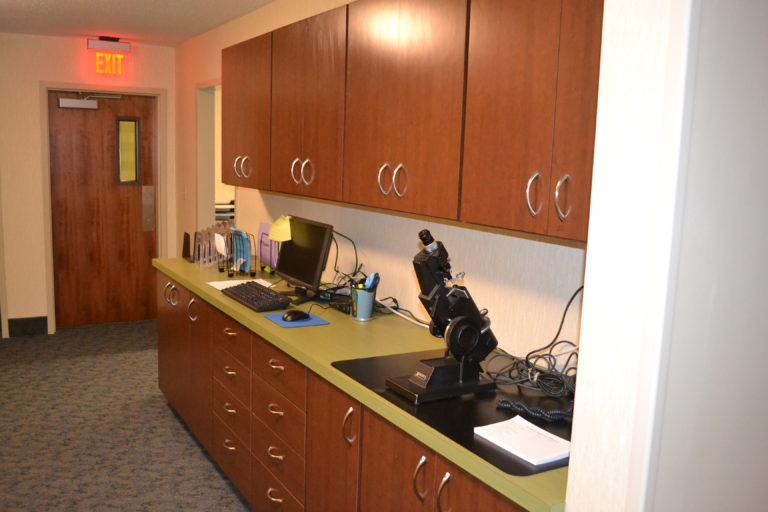 HealthCare Work Study Area