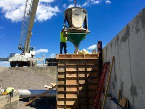 Pouring Industrial Concrete - McRae Enterprises