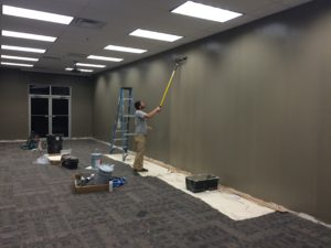Interior Finish Tennant Fit Up - McRae Enterprises