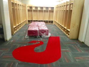 High School Locker Room Construction - McRae Enterprises