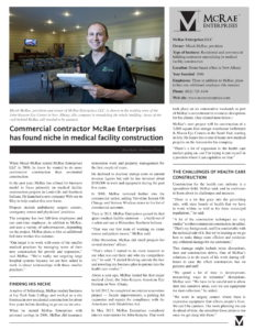 Business First Article - McRae Enterprises
