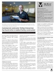 Business First Article PDF - McRae Enterprises