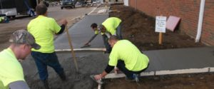 Sidewalk Construction - McRae Enterprises