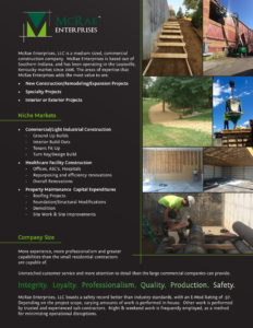 Marketing Brochure Publication PDF - McRae Enterprises