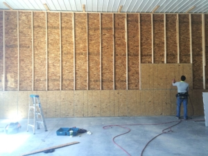 Commercial Wall Framing