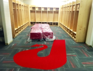 Jeffersonville HS Locker Room Construction - McRae Enterprises