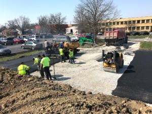 Facility Parking Lot Construction